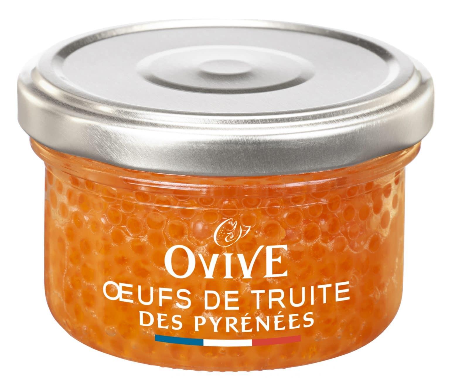 Oeufs de truite des Pyrénées