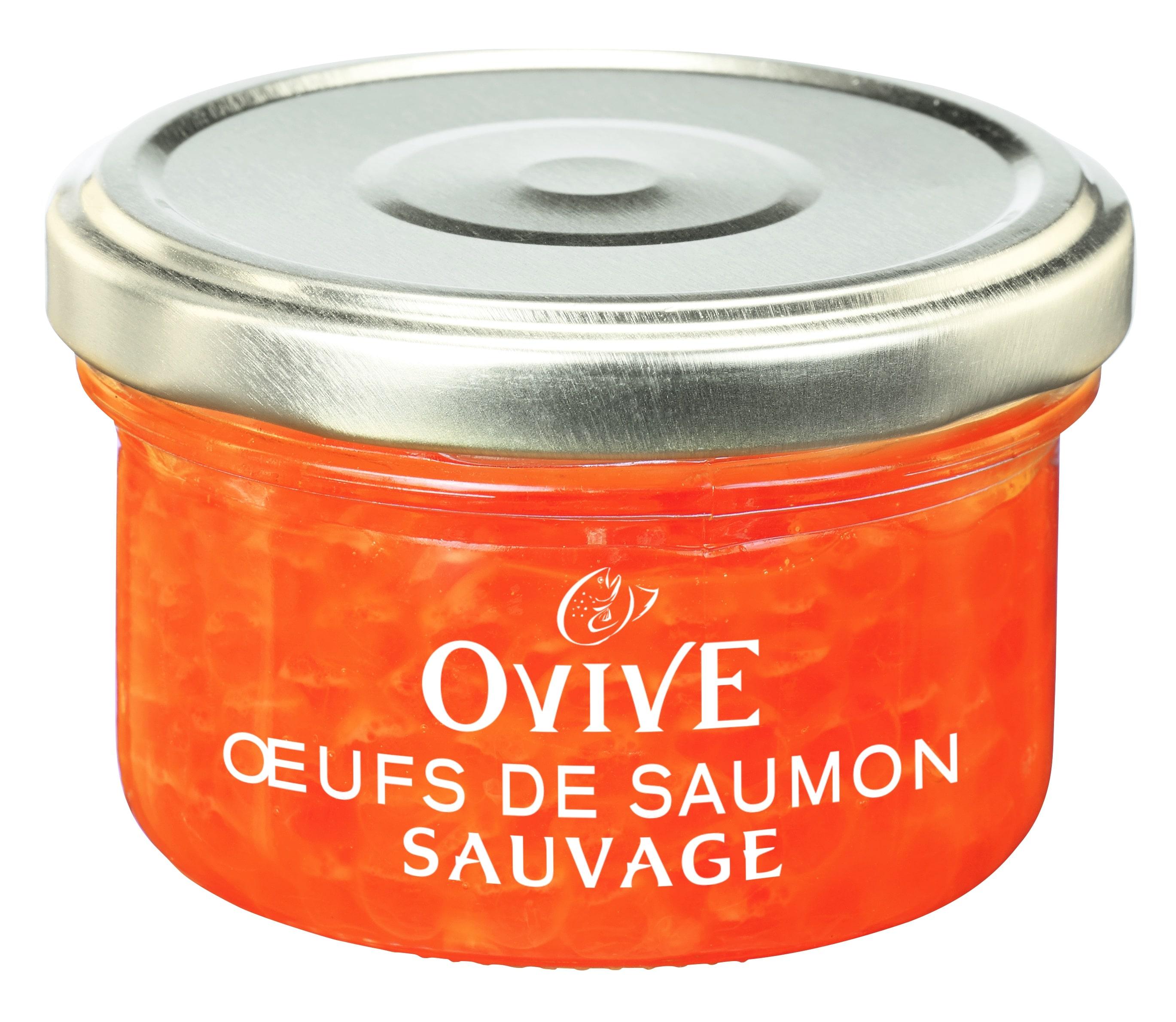 Oeufs de saumon sauvage OVIVE