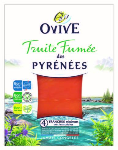 Truite fumée des Pyrénées OVIVE