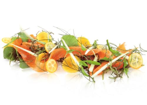 Salade à la truite fumée OVIVE