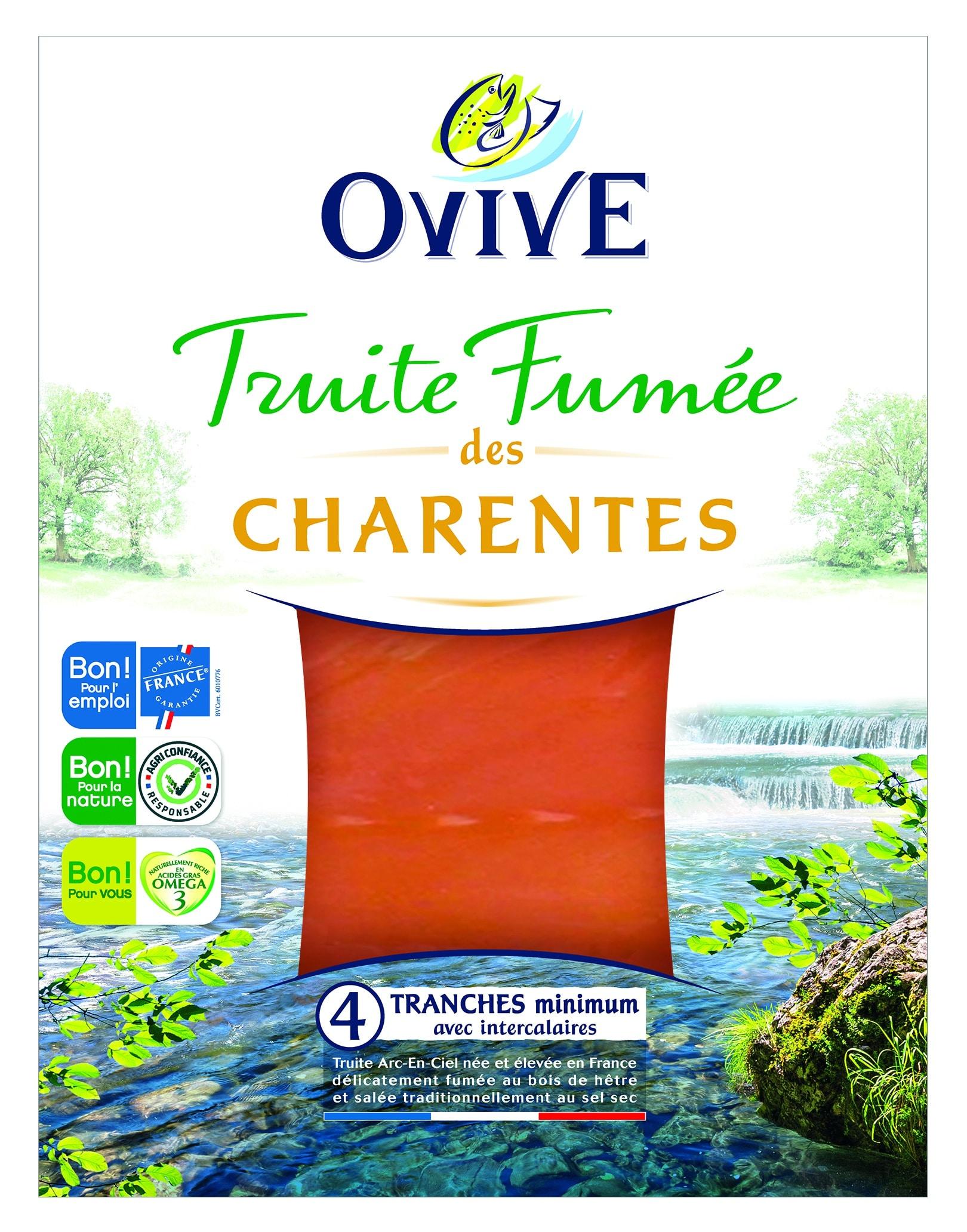 Truite fumée des Charentes OVIVE